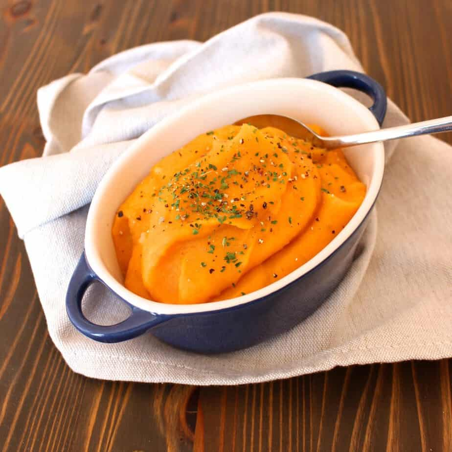Carrot Potato Puree with Garlic | Frugal Nutrition