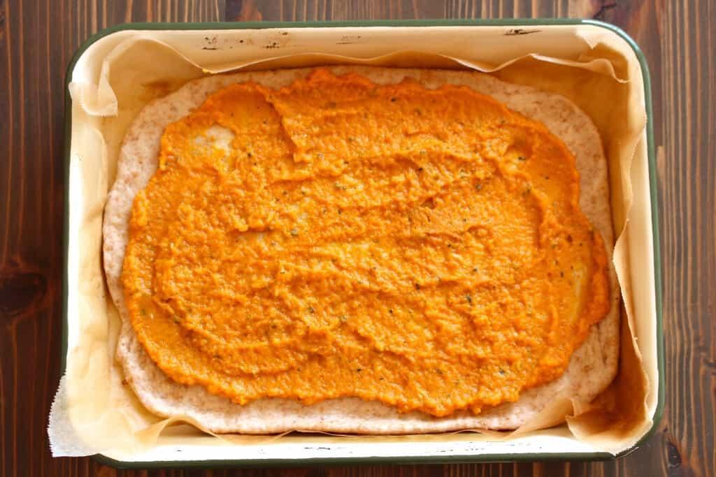 Creamy Pumpkin Sauce for #pasta or #pizza #pumpkin | Frugal Nutrition