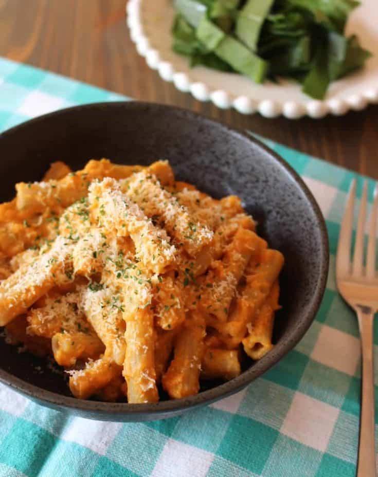 Creamy Pumpkin Pasta Sauce Recipe