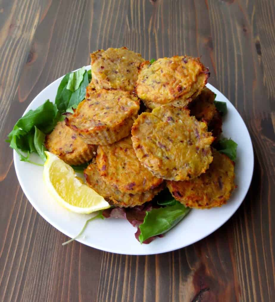 Spicy Sweet Potato and Tuna Cakes