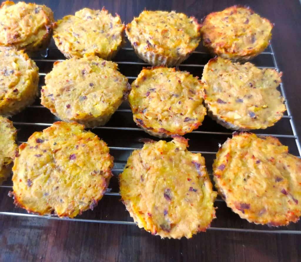 Easy Baked Sweet Potato Tuna Cakes inspired by Nom Nom Paleo