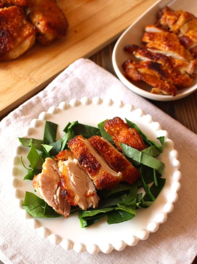 Easy Crispy Stovetop Chicken by Frugal Nutrition