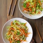 Shredded Cabbage and Ginger Salad + $650 Amazon Giveaway