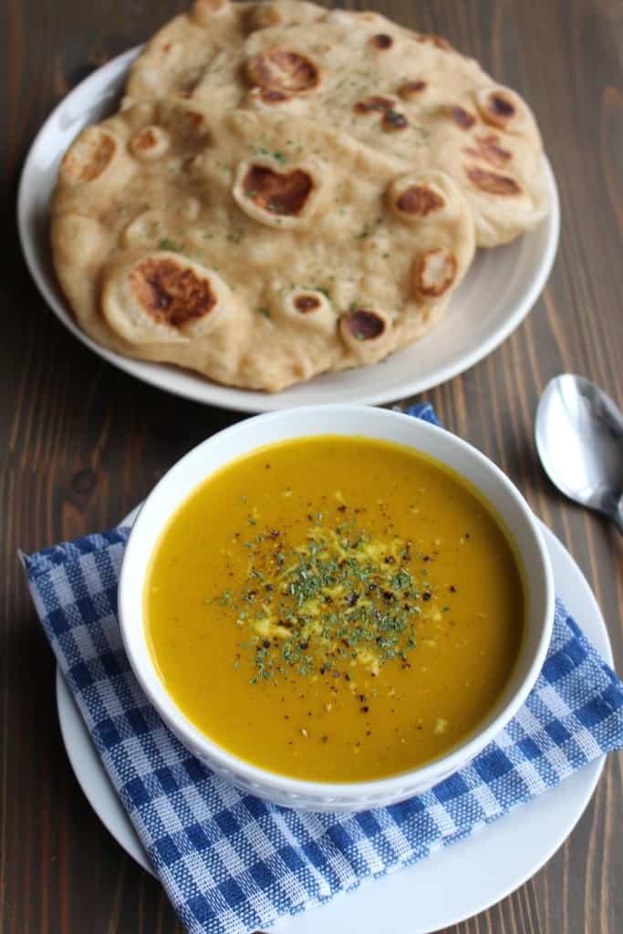 Easy Kabocha Squash Soup | Frugal Nutrition #kabochasquash #japanesepumpkin #soup #easydinner