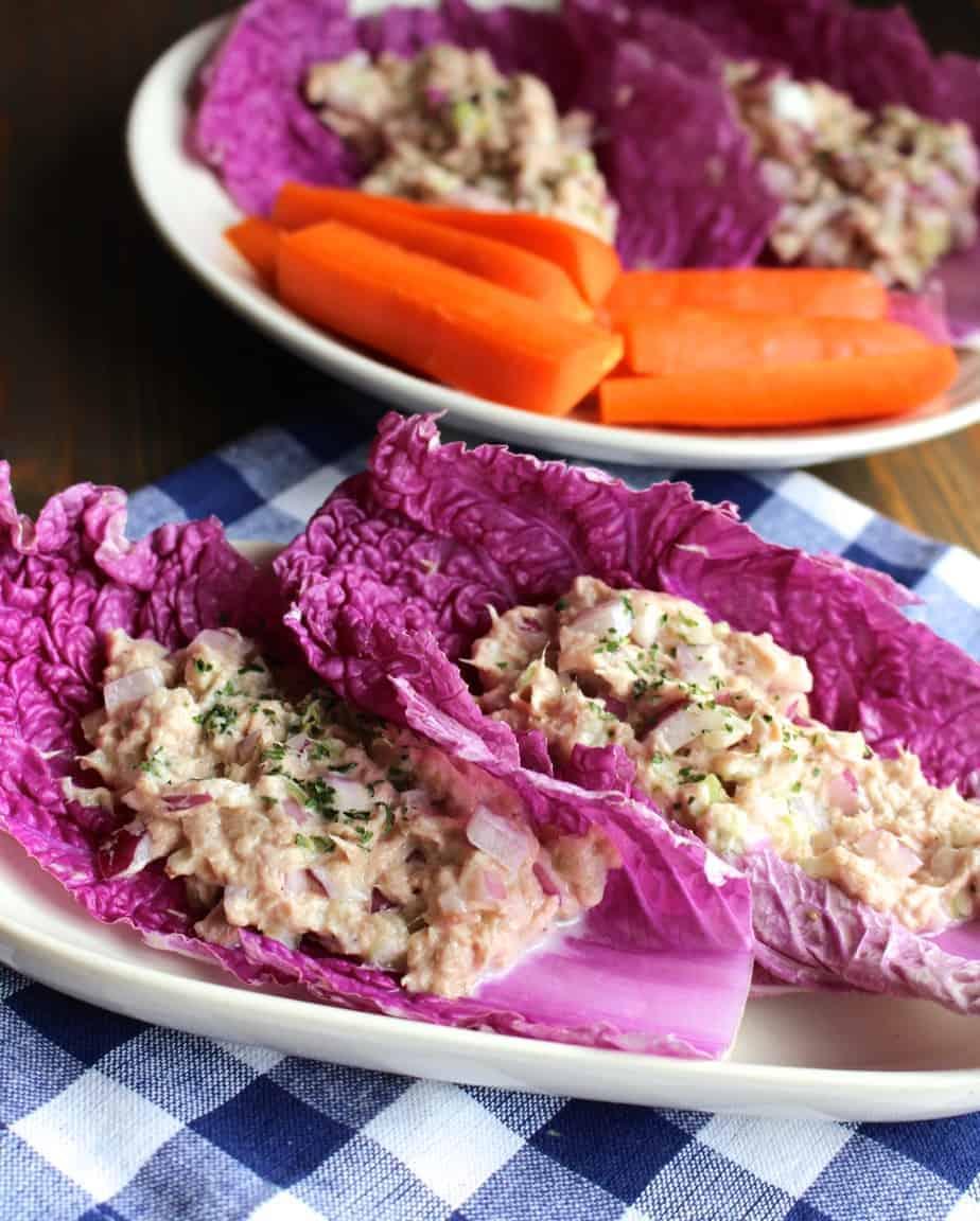 No Mayo Tuna Salad Cabbage Wraps Frugal Nutrition Watermelon Wallpaper Rainbow Find Free HD for Desktop [freshlhys.tk]