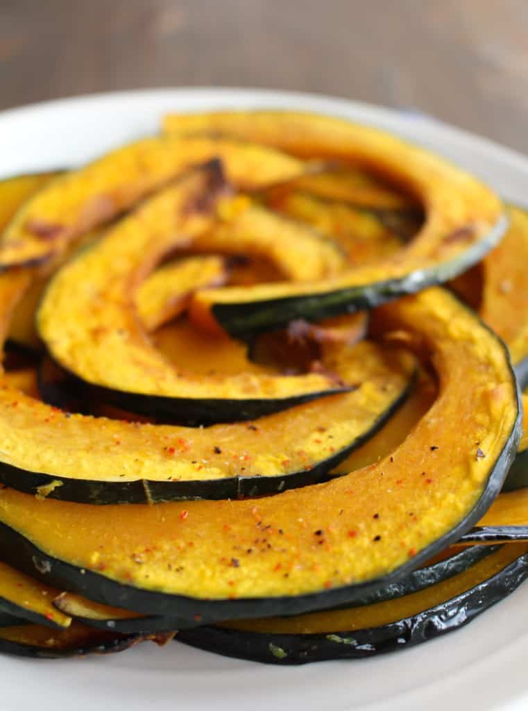 Easy Roasted Kabocha Squash | Frugal Nutrition