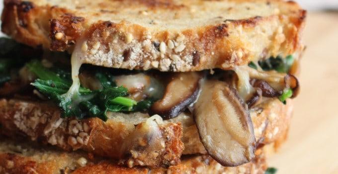 Garlic Mushroom Melt   Frugal Nutrition