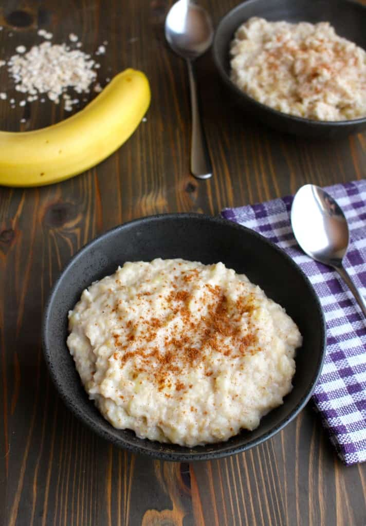Super Easy Mashed Banana Oatmeal (Naturally Sweet) | Frugal Nutrition