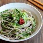 5-Ingredient Cucumber Noodle Soba Salad