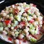 Chickpea Tzatziki Salad
