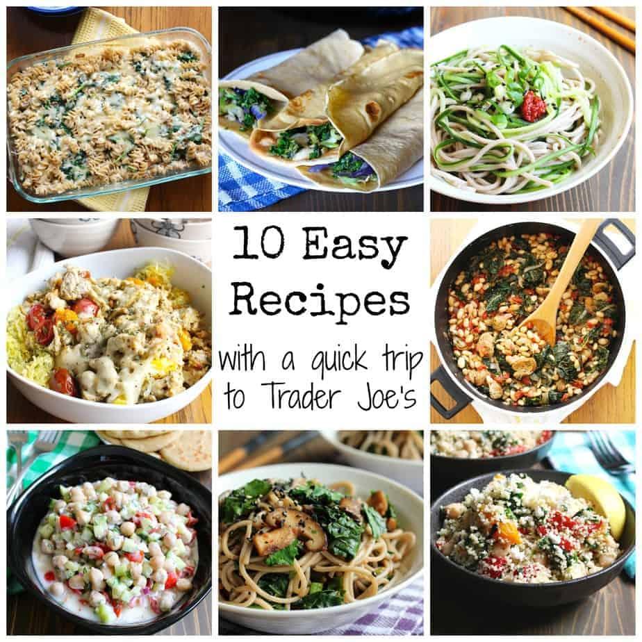 Trader Joe's Recipes, Trader Joe's Easy Recipes #traderjoes #easy #weeknight #meals