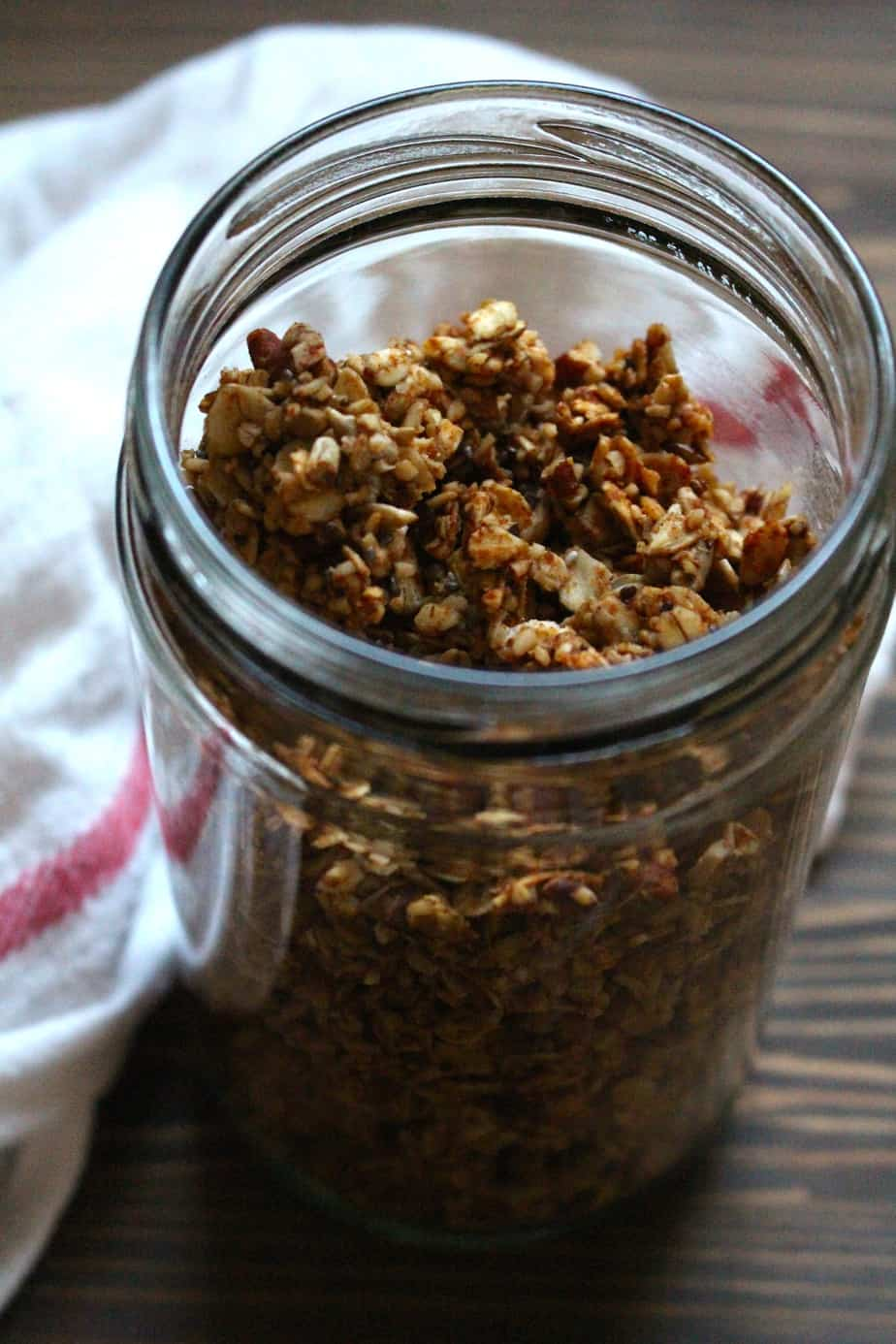 Super simple granola - frugalnutrition.com