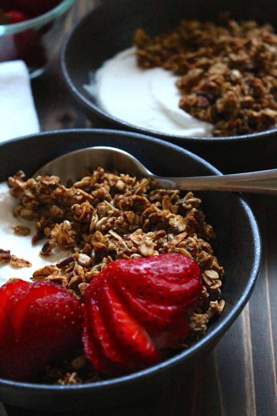 The Best Granola | frugalnutrition.com