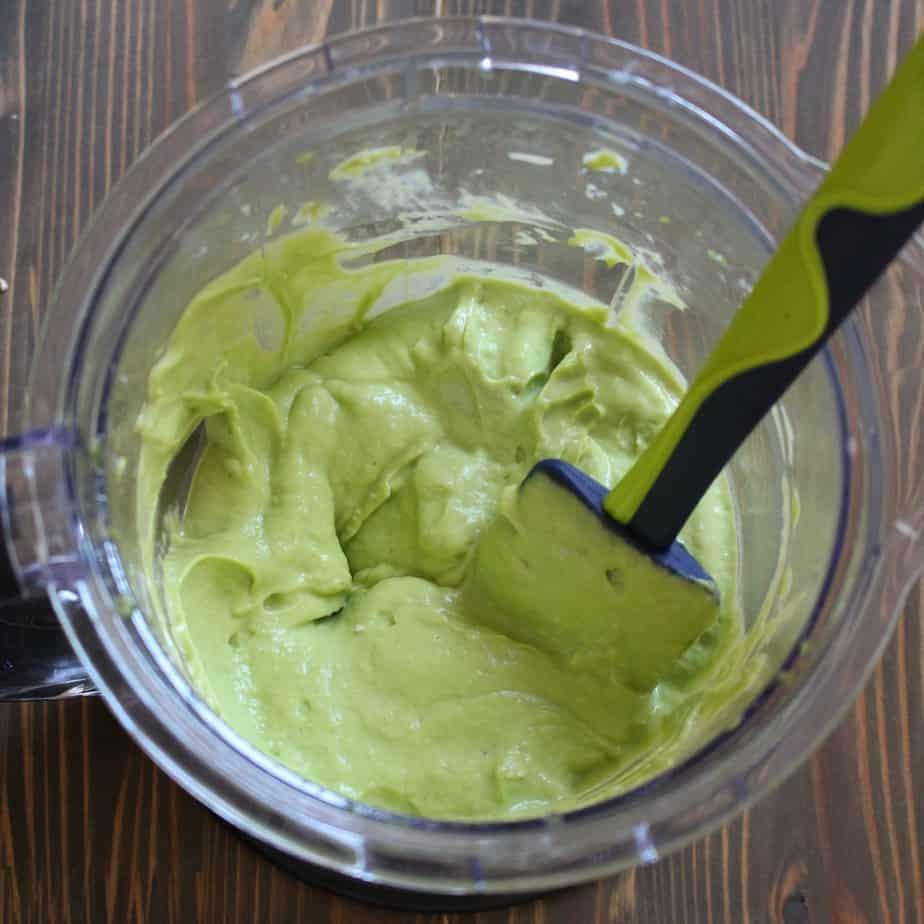 Avocado Alfredo Sauce by frugalnutrition.com