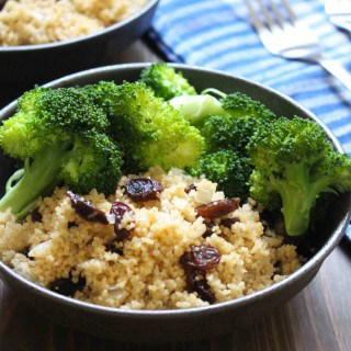 Spiced Couscous & Raisins | Frugal Nutrition #easydinner