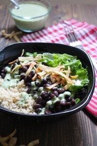 Awesome Black Bean and Quinoa Salad | Frugal Nutrition