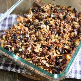 Fruit Crisp for Four - Frugal Nutrition