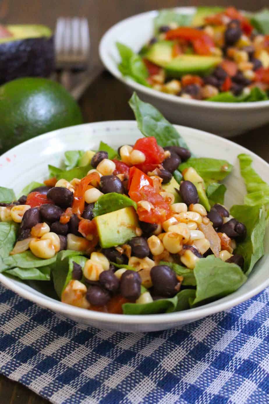 Pan Roasted Corn and Tomato Salad $1.17 per serving   Frugal Nutrition