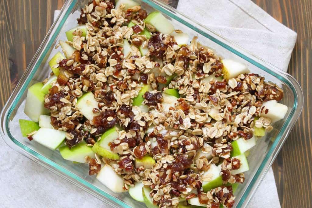 Simple Paleo Fruit Crisp for Four | Frugal Nutrition