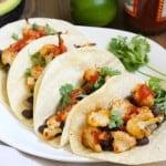 Vegan Cauliflower & Black Bean Tacos