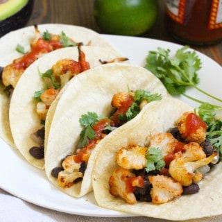 Vegan Cauliflower Tacos | #easyvegan Frugal Nutrition