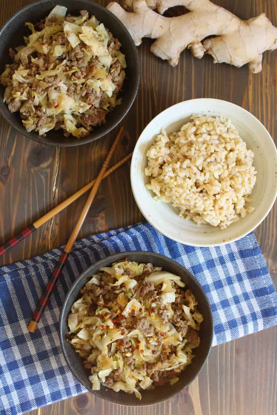 Easy Weeknight Beef and Cabbage | Frugal Nutrition