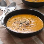 Coconut Thai Butternut Squash Soup (Vegan)