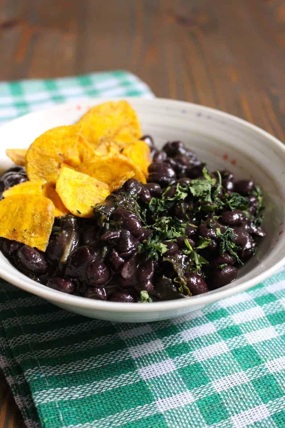 Cuban Black Beans | Frugal Nutrition