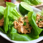 Thai Curry Chicken Salad Lettuce Wraps