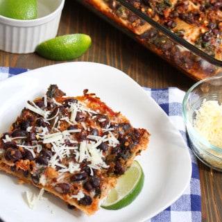 Easy Taco Lasagna Casserole | Frugal Nutrition
