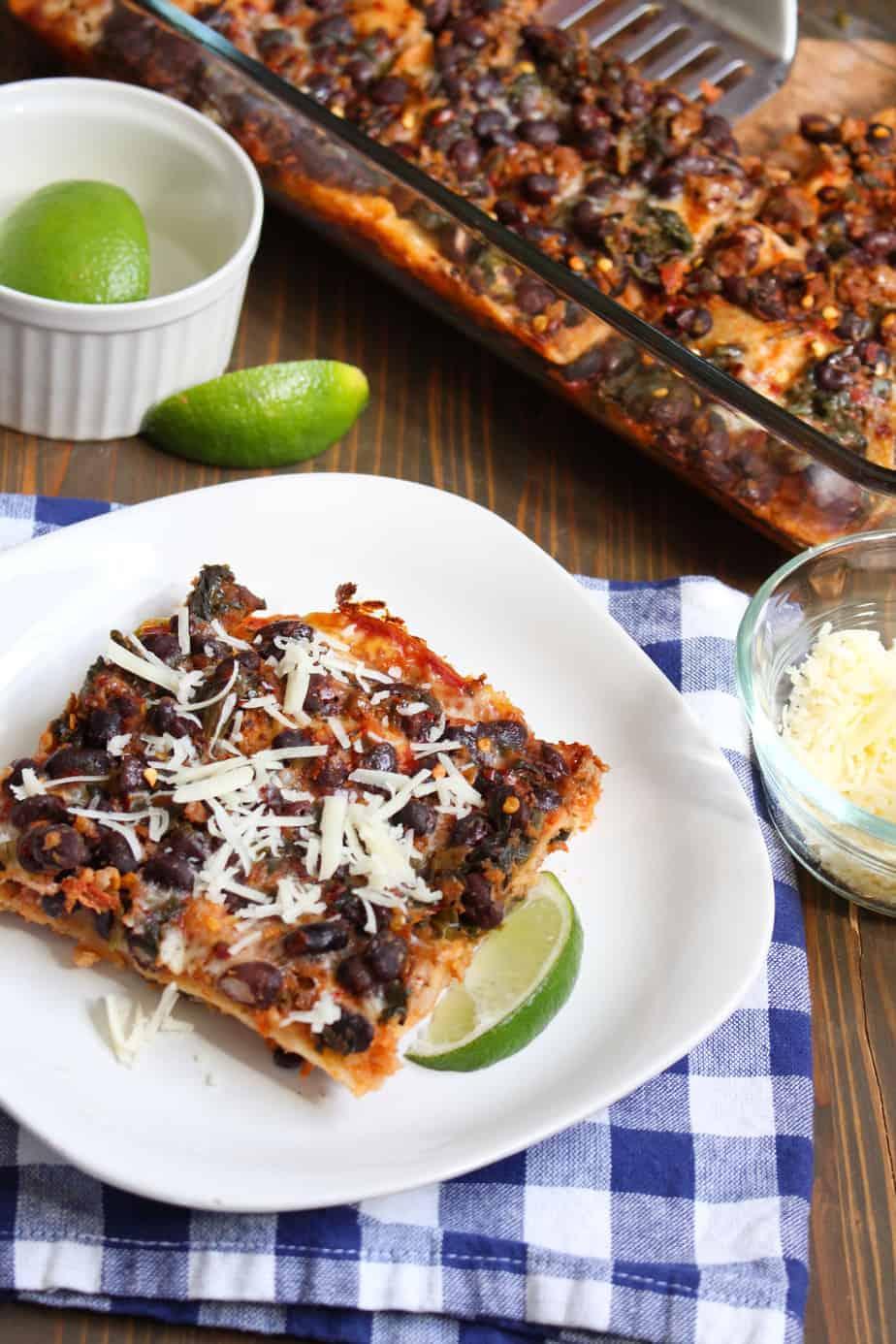 Easy Taco Lasagna Casserole   Frugal Nutrition