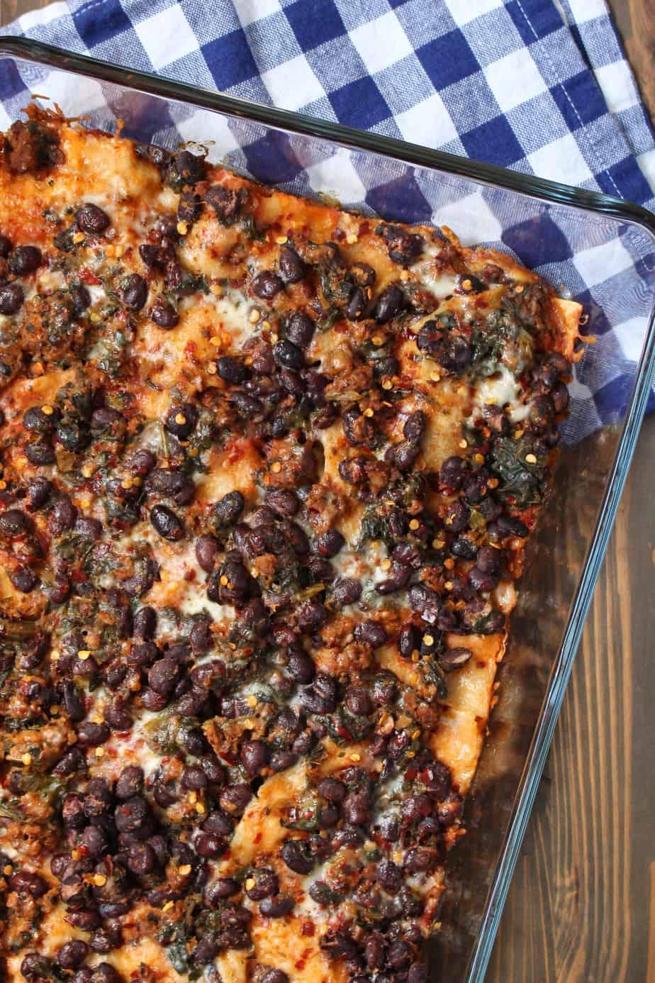 Taco Lasagna Casserole   Frugal Nutrition