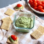 Basil Cream Cheese Dip
