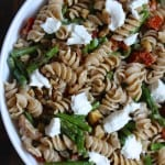 Asparagus & Goat Cheese Pasta Salad