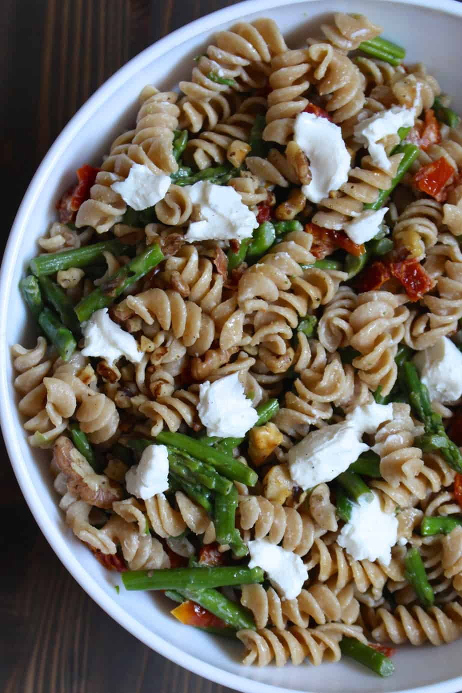 Spring Pasta Salad | Frugal Nutrition