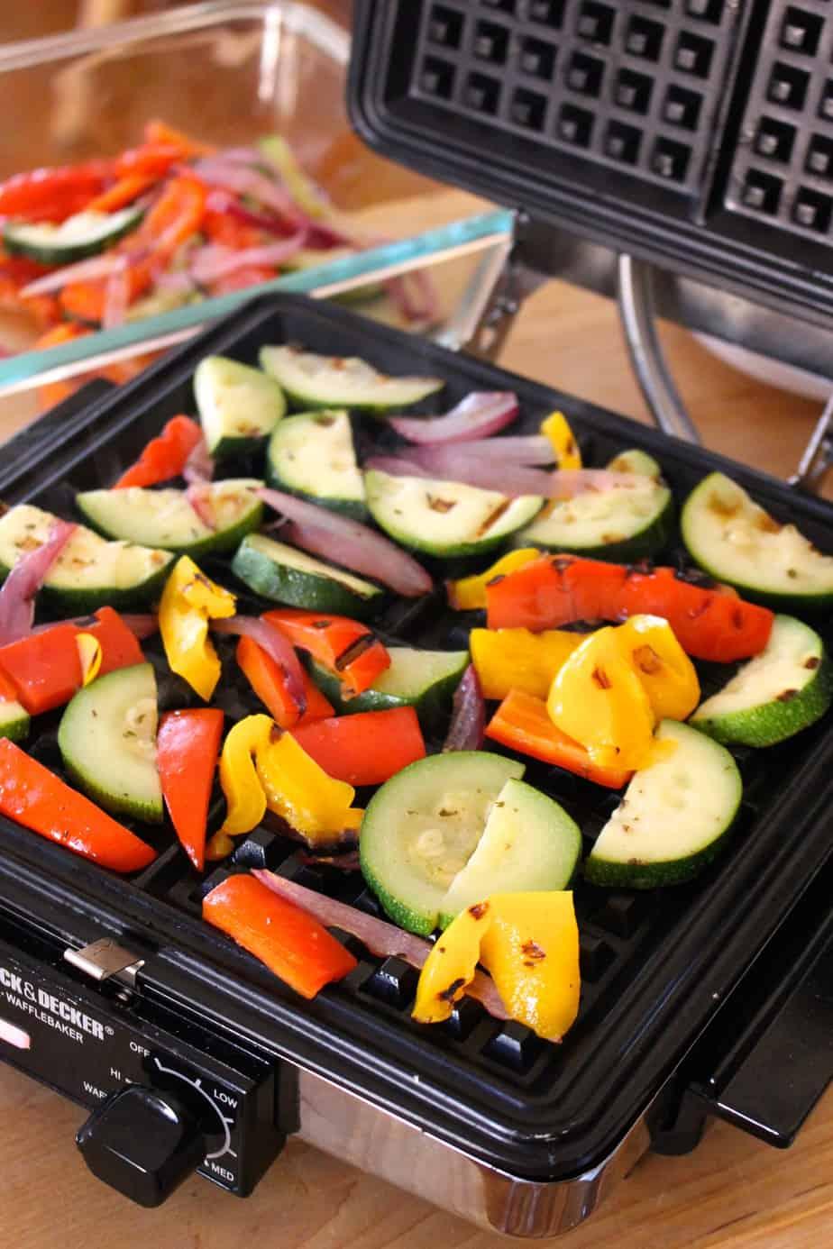 Waffled Vegetables | Frugal Nutrition
