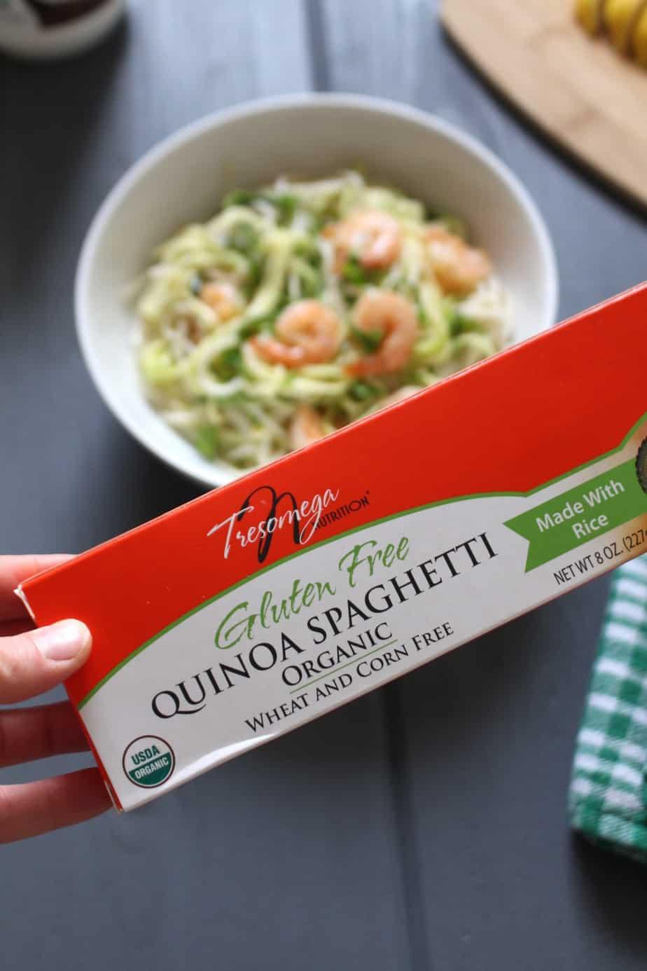 TresOmega Gluten-free Spaghetti | Frugal Nutrition