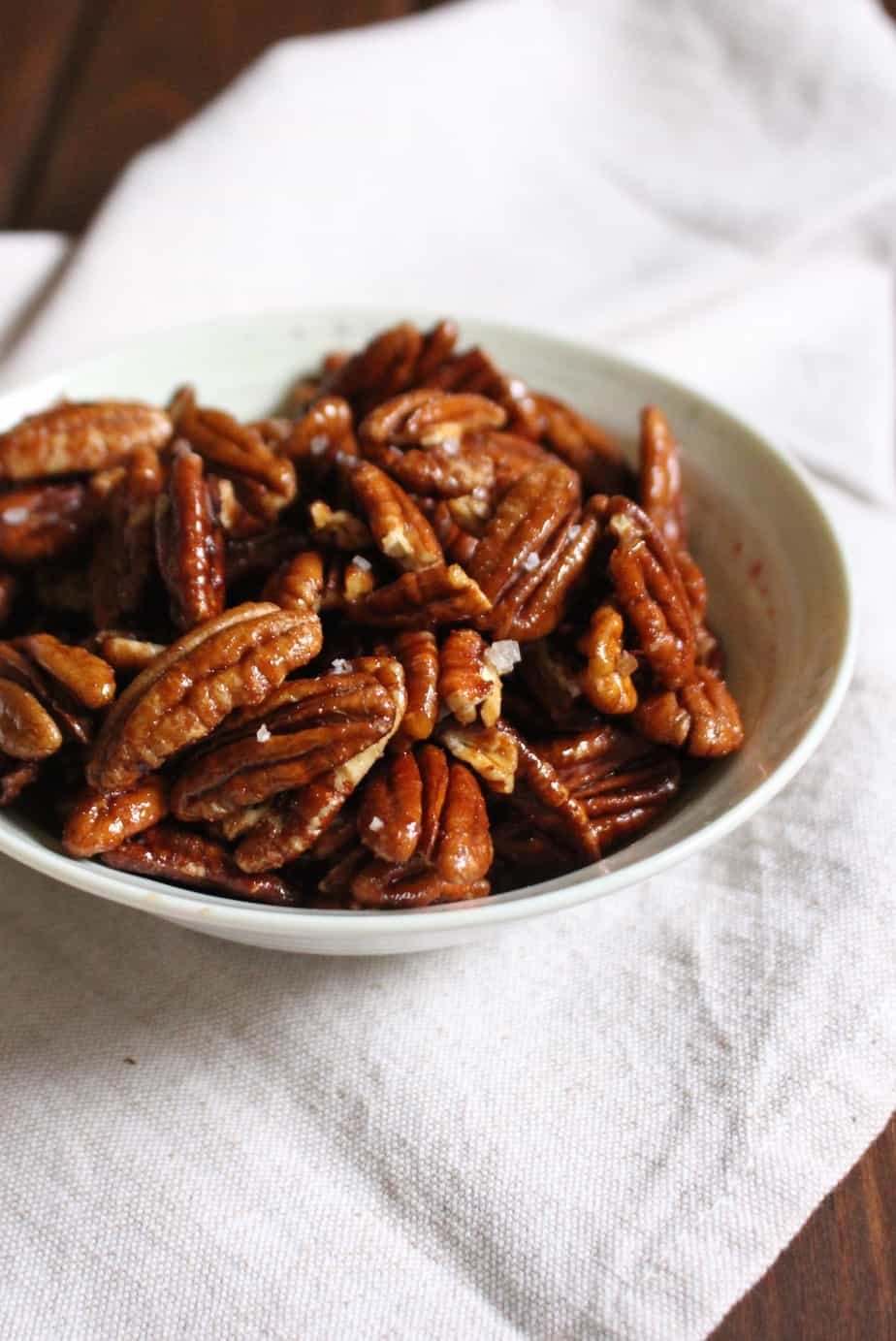 Cayenne and Maple Syrup Pecans | Frugal Nutrition
