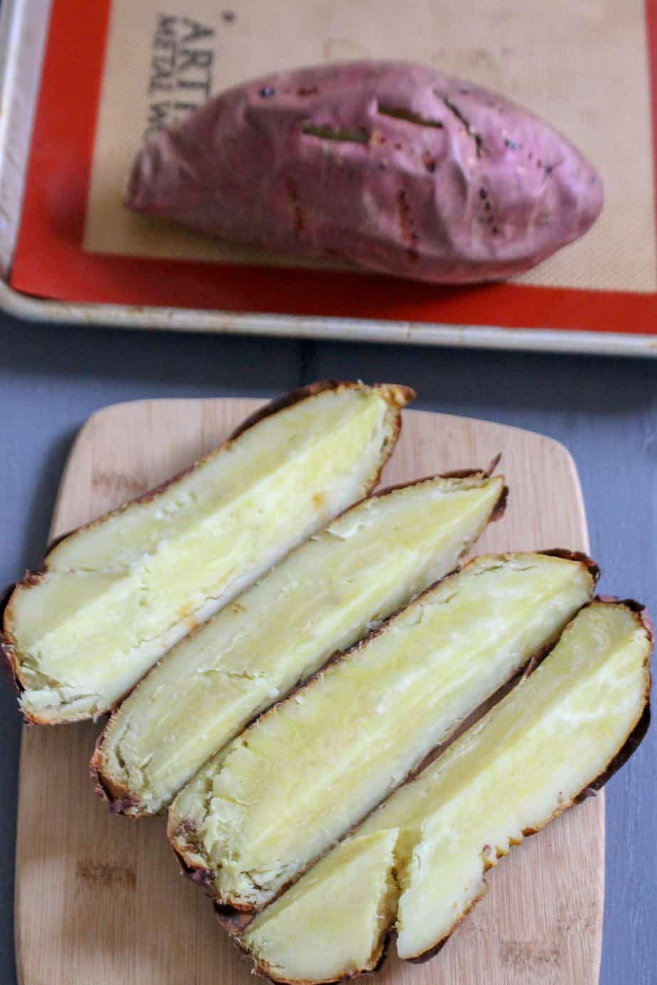 Baked Japanese Sweet Potatoes | frugalnutrition.com