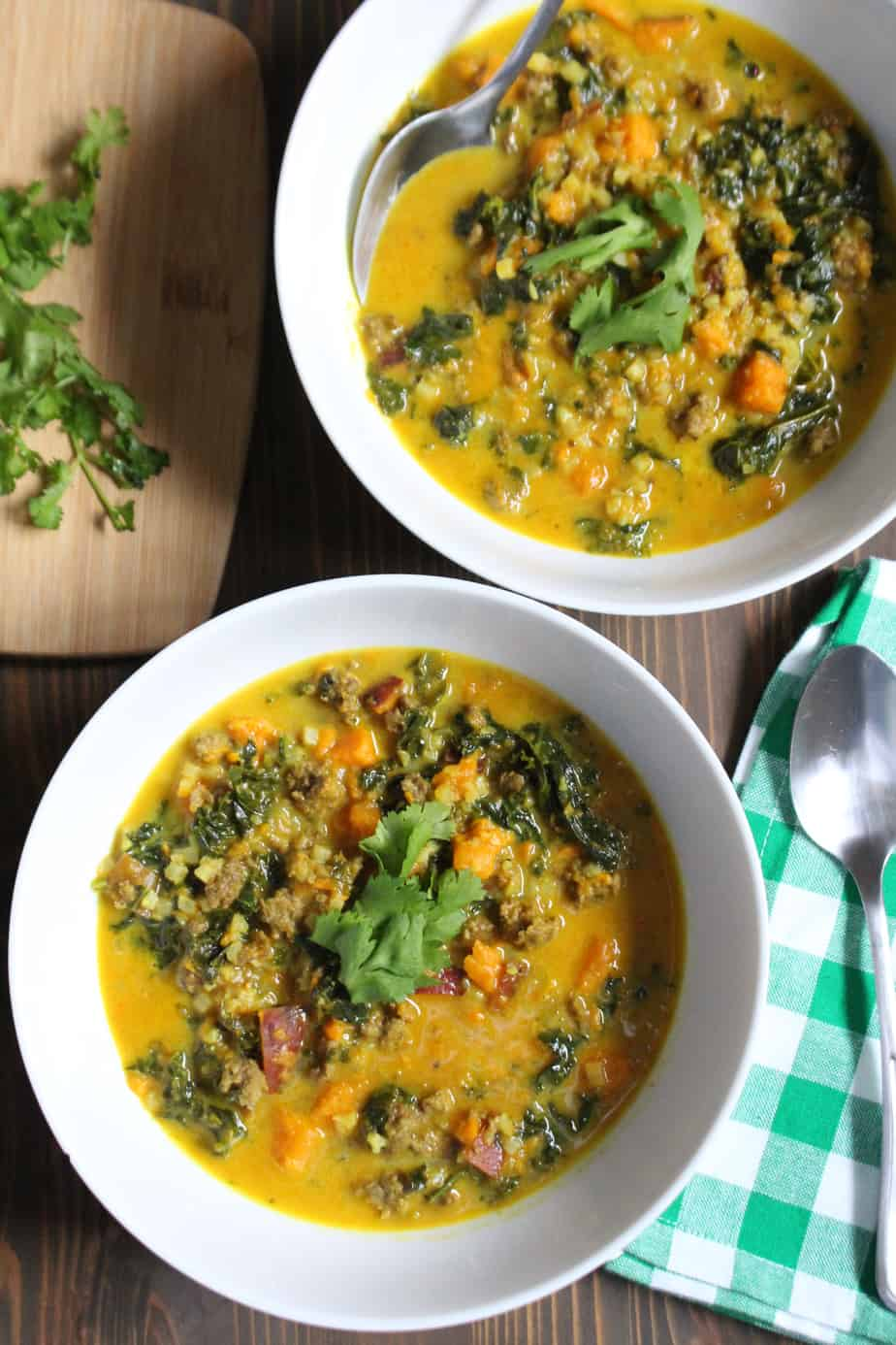 Lamb Curry Soup by Frugal Nutrition