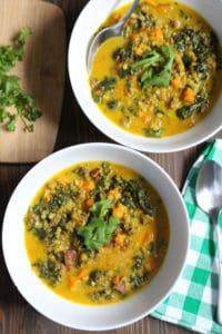 Simple Basic Beginner's Lamb Curry   www.frugalnutrition.com