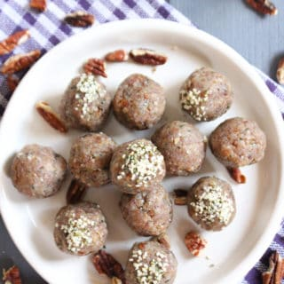 Salted Butter Pecan Date Bites | Frugal Nutrition