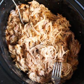 Shredded Slow Cooker Pork | Frugal Nutrition