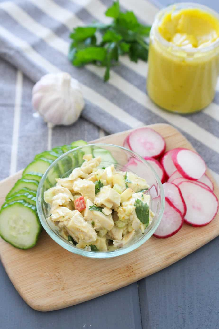Chicken Salad with Avocado Oil Mayonnaise | Frugal Nutrition