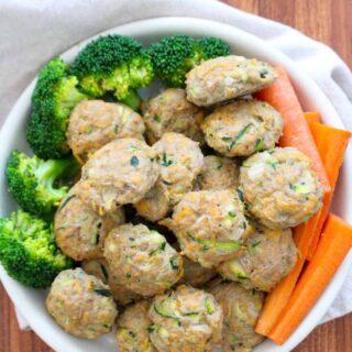Turkey Sweet Potato BItes | Frugal Nutrition