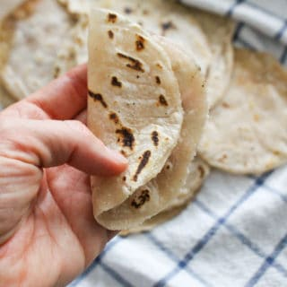 Pliable Homemade Tortillas Cassava Flour | Frugal Nutrition