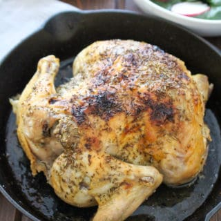 Crispy Whole Chicken Slow Cooker | Frugal Nutrition