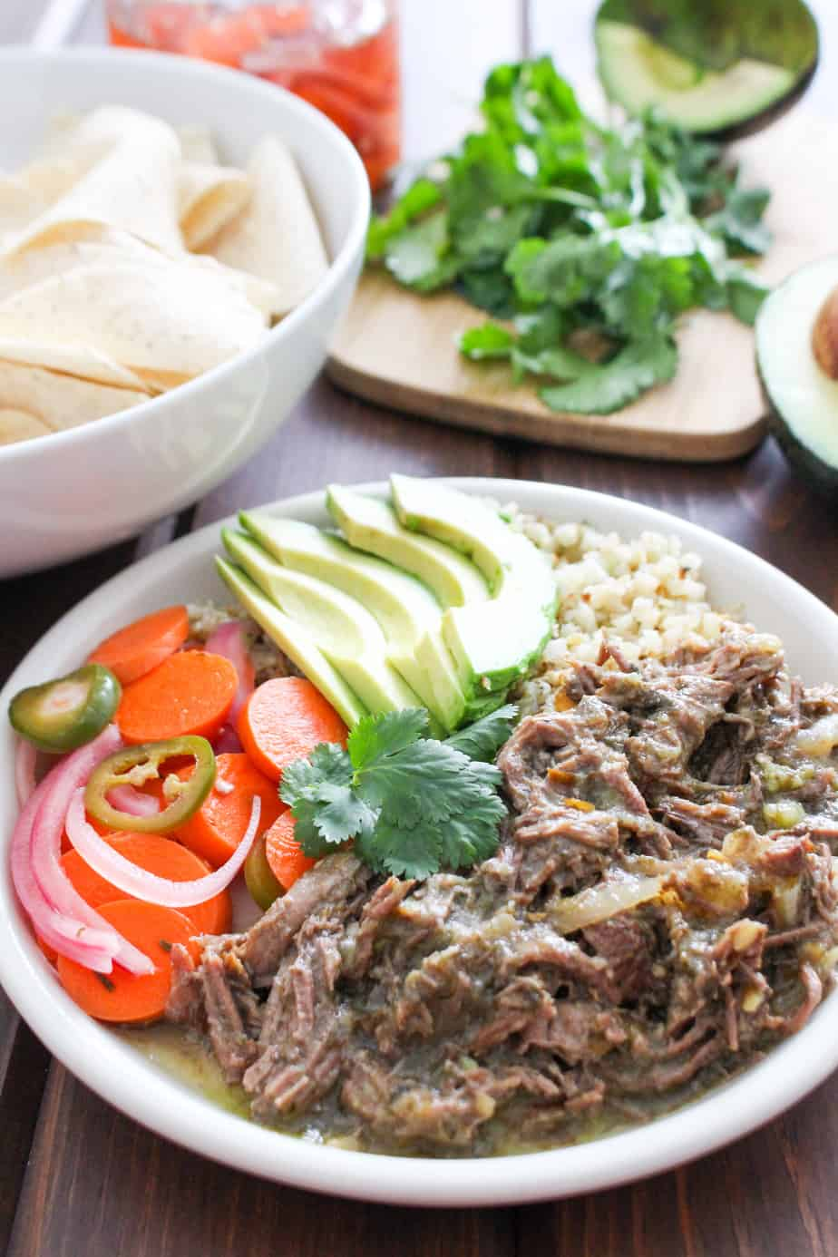 Slow Cooker Beef Chile Verde | Frugal Nutrition