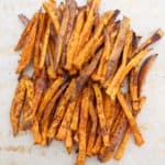 Baked Sweet Potato Fries | Frugal Nutrition