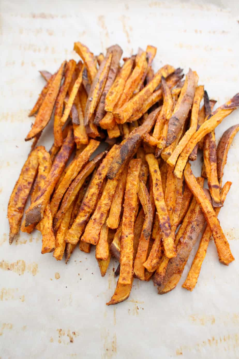 Spicy Baked Sweet Potato Fries | Frugal Nutrition